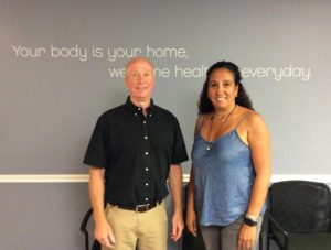 Your First Visit to Mossell Holistic meet Dr. Dan and Carla.